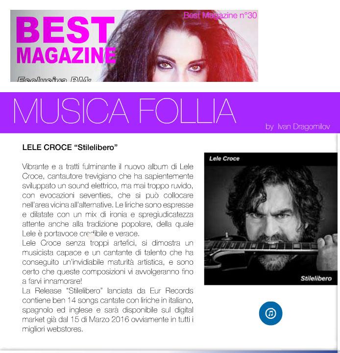 Lele Croce - Best-Magazine