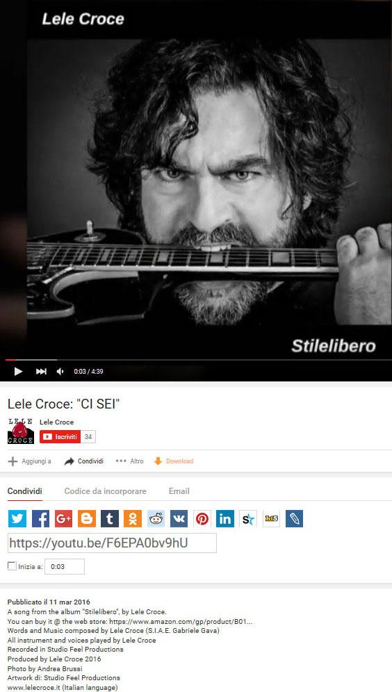 Lele Croce - Youtube