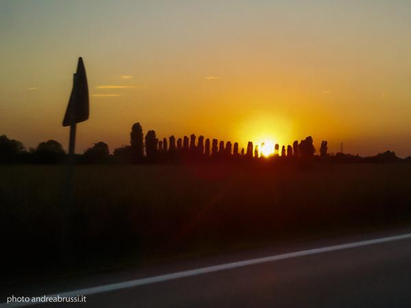 andreabrussi.it - tramonto colli euganei