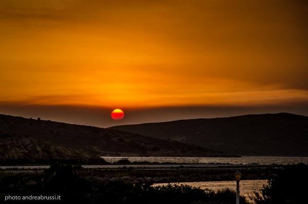 andreabrussi.it - Leros tramonto
