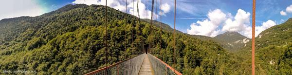 andreabrussi.it - Longarone ponte sospeso